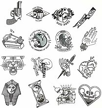 28pcs / Lot Von Old School Tattoo Style Aufkleber
