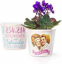 29. Hochzeitstag Geschenk – Blumentopf (ø16cm)