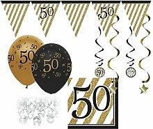 29 Teile Set zum 50. Geburtstag, Jubiläum oder