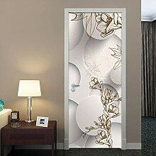 29D Door Sticker Door Stickers 3D Muster