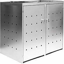 2er / 3er Mülltonnenbox Müllbox