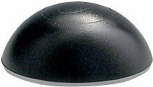 2er Danto® Spar Pack Türpuffer HALBKUGEL schwarz, Ø 32 mm Höhe: 13 mm, aus Kunststoff