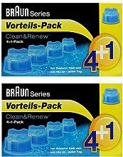 2er Pack 4+1 Pack Braun Clean & Renew CCR 4+1 - 5