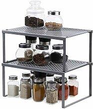 2er-Pack Küchenschrank, erweiterbar und