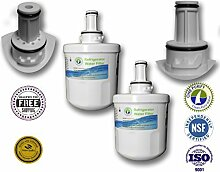 2er Pack - OnePurify Wasserfilter ersetzen Samsung, Whirlpool, Nach 2010 Modelle (3-Kerbe), Wasser Pur, Aqua Pure Plus, DA29-00003, DA29-00003A, DA29-00003A-B, DA29-00003B, DA29-0003B, DA2900003A, DA2900003B, DA61-00159, DA61-00159A, DA61-00159A-B, DA61-15