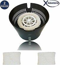 [2er Pack] X-Solutions Luftbefeuchtungsfilter für