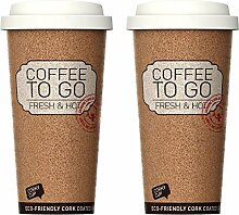 2er Set, Becher to go, Coffee to go Becher Thermo,