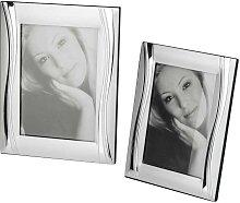 2er SET Bilderrahmen Fotorahmen WELLE für 10x15cm