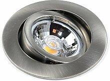 2er Set Dimmbarer LED Einbaustrahler Lino 230Volt