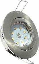 2er Set LED SMD Einbaustrahler Lino 230Volt.