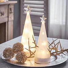 2er Set: Lichterbaum erhellt die Adventszeit