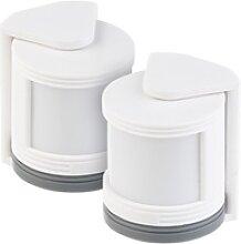 2er-Set Mini-PIR-Bewegungsmelder für