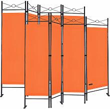 2er Set Paravent Lucca 180x163 cm Verstellbar