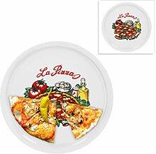 2er Set Pizzateller Napoli groß - 30,5cm
