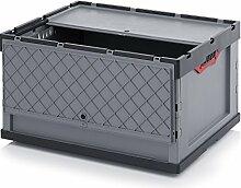 2er Set Profi-Faltbox mit Deckel Auer 188 Liter |
