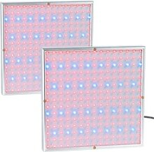 2er-Set Profi LED-Pflanzen-Wachstums-Leuchtpanels