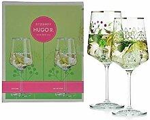 2er Set Ritzenhoff Design Hugo Glas