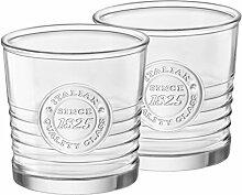 2er Set Whiskygläser OFFICINA, 30 cl, 10 oz, Ø