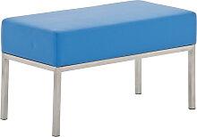 2er Sitzbank Lamega 80x40-blau