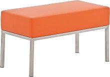 2er Sitzbank Lamega 80x40-orange