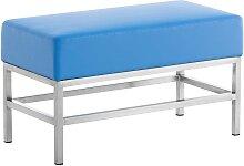 2er Sitzbank Tulip-blau