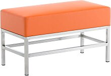 2er Sitzbank Tulip-orange