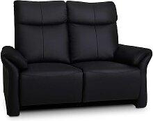 2er Sofa in Schwarz elektrisch verstellbar