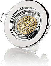2er sweet-led GU10 Einbaustrahler LED, 230V, 3W,