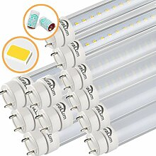 2erx Auralum® T8 120CM LED Leuchtstoffröhre Tube