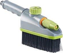 2in1-Hand-Waschbürste, Sprühfunktion,