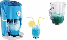 2in1 Slushy Maker Elektrischer Eiscrusher für