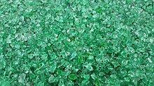 2kg Glas Splitt 5-10mm grün