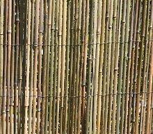 2m x 1,5m Bambusmatte Bambus-Sichtschutzmatte Zaun- Sichtschutz Matte geschnitten