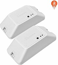 2pack, SONOFF BASICR3 10A Intelligenter kabelloser