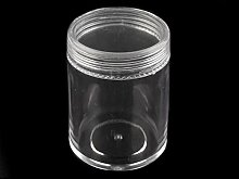 2pc Ransparent Kunststoff-Glas 3.9x4.9cm Mit