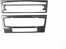2PCS 3D-Carbon-Faser-Auto-Luft-Aufkleber Anlage CD
