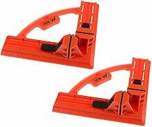 2pcs 90-Grad Präzision Holzbearbeitung Werkzeuge