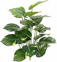 2pcs Künstliche Pflanzen Draußen Kunstpflanze