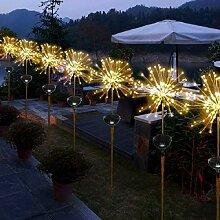 2pcs Solar Garten Licht Dekoration Licht,SUAVER