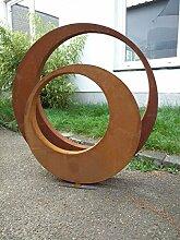 2st. Edelrost Gartenskulptur Rost Garten Figure