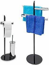 2tlg Badezimmer Set KLASS, WC Garnitur