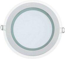 2x 15W LED Panel Glas Einbaustrahler Spot