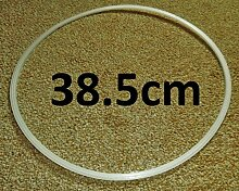 2x 38.5CM FLOOR PROTECTOR PROTECTION RINGS FOR BAR STOOL BASES by BAR STOOL