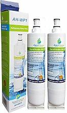 2x AH-WP1 kompatibel Wasserfilter für Whirlpool Kühlschrank SBS002, 4396508, 481281729632, 461950271171, S20BRS, SBS003