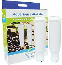 2x Aquahouse AH-CKR Kompatibel für Krups Claris F088 Wasserfilterpatrone für AEG Bosch Krups Siemens Kaffeemaschine