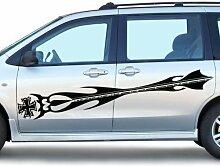 2x Auto Aufkleber Eisernes Kreuz Viper Iron Cross