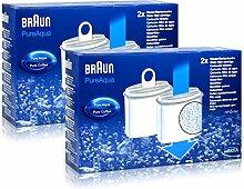 2x Braun KWF2 Wasserfilter Aroma Selekt Pure