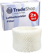 2x Ersatz - Luft-Filter für Philips