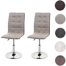2x Esszimmerstuhl HWC-C41, Stuhl Küchenstuhl,