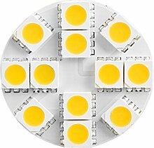 2x G4 2,5W 160 lm LED Lampe 3000K Warmweiß 12